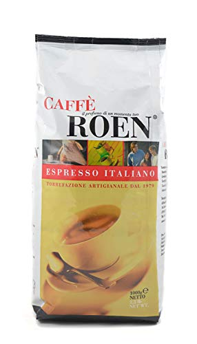 Caffe Roen Mokka, Espresso, ganze Kaffeebohnen 1.000g