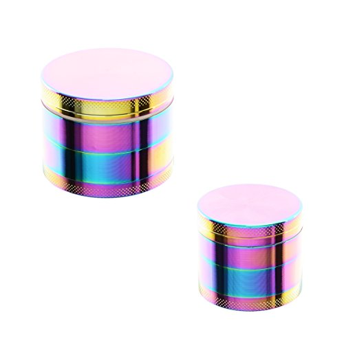 ATOMIC-Metal Grinder Rainbow 4 parts Ø50mm