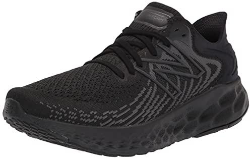 New Balance Men's Fresh Foam 1080 V11 Running Shoe, Black/Phantom, 10.5