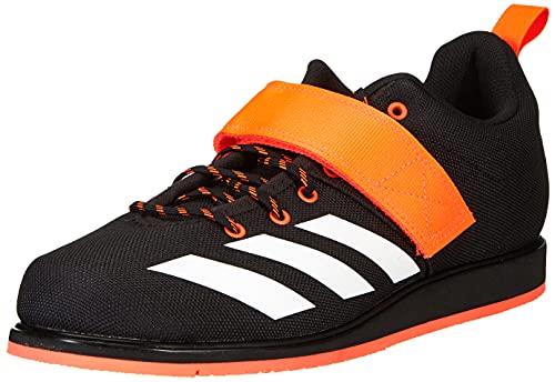 adidas Powerlift 4, Zapatillas de Running Hombre, NEGBÁS/FTWBLA/Rojsol, 42 2/3 EU