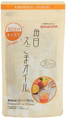 [太田油脂] 毎日えごまオイル 90g(3g ×30袋)×2 /小袋 スティックタイプ
