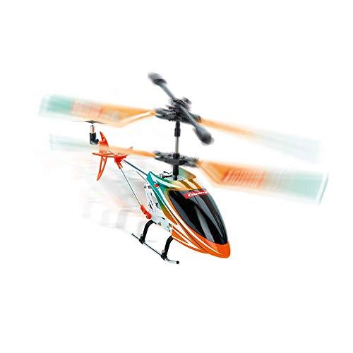 Carrera RC Air 2,4GHz Orange Sply 2 I ferngesteuerter Elektro-Helikopter ab 8 Jahren I mit Fernbedienung, Akku, Ladekabel & Batterien I Spielzeug für Kinder & Erwachsene I für drinnen & draußen