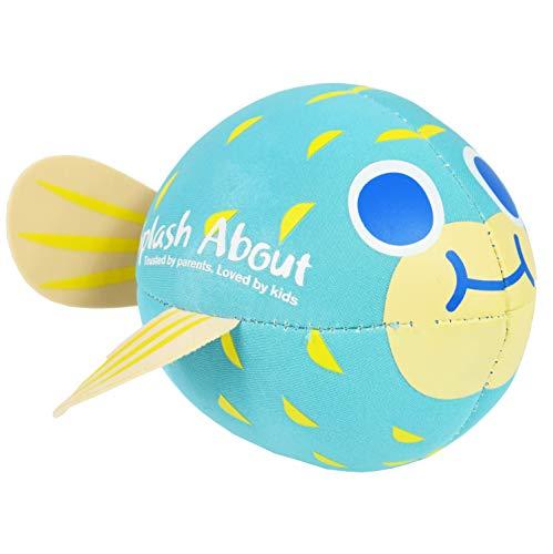 Splash About Neoprene Pufferfish Splash Ball-Water Toy Bola de Salpicaduras, Unisex bebé, Azul, Talla única
