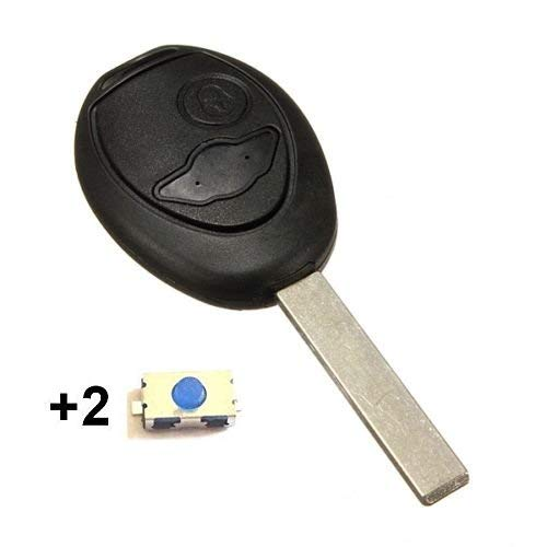 Hamimelon For BMW MINI COOPER ONE S 2 BUTTON REMOTE KEY FOB CASE /& BLADE 2 BUTTONS