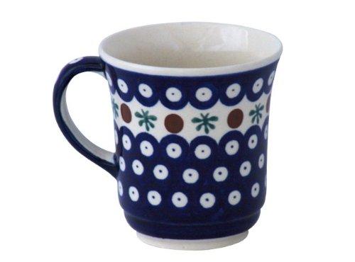 Original Bunzlauer Keramik Becher V=0,30 Liter im Dekor 41