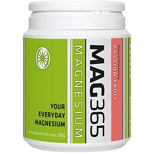 MAG365 Passion Fruit Magnesium Food Supplement, 300 g
