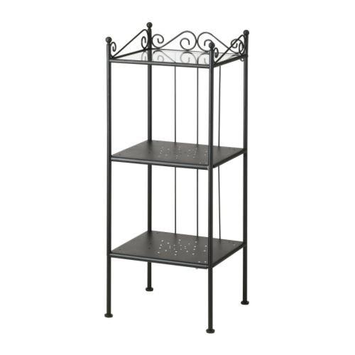 Ikea ronnskar – Estantería, Negro – 42 x 103 cm