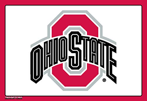 Wow!Pad Large 7.5' x 11' Collegiate Tailgate Gaming Mouse Pad, Made in USA, Ohio State