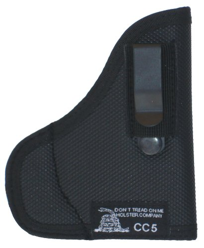 DTOM Combination Pocket/IWB Holster for Both Ruger LCP and Keltec P3AT, P32 w/Crimson Trace Lasers, CC5