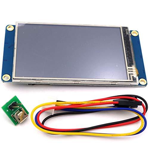 Asiawill nextion nx4024t032 Generic 8,1 cm HMI TFT 400 x 240 Auflösung Intelligente LCD Touch Display Modul