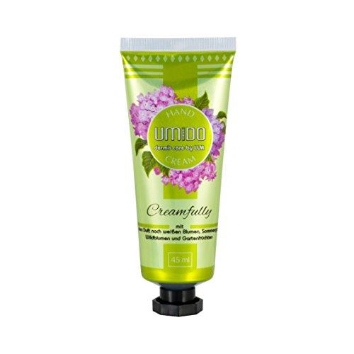 1x UMIDO Hand-Creme 45 ml weiße Blumen, Sommergras, Wildblumen & Gartenfrüchte | Handlotion | Creme | Pflegecreme | Lotion | Hautpflege