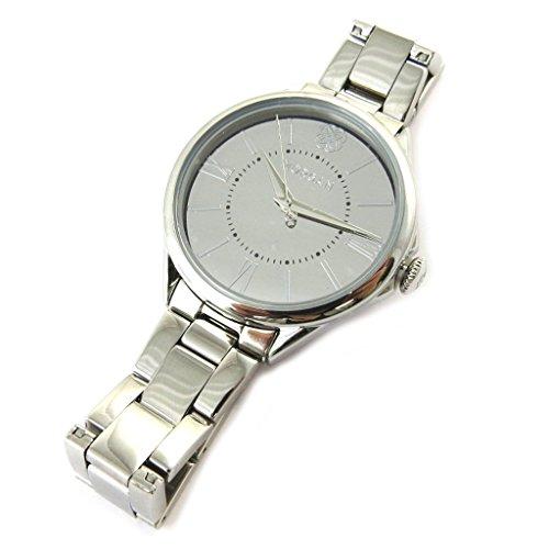 Morgan [N6251] - Designer-Uhr 'Morgan' Silber (elégance).