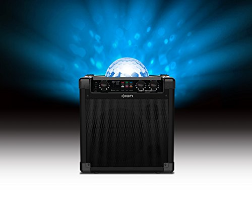 ION Audio Party Rocker Plus – Portable Bluetooth Party Speaker System & Karaoke Machine with Built-In Rechargeable…