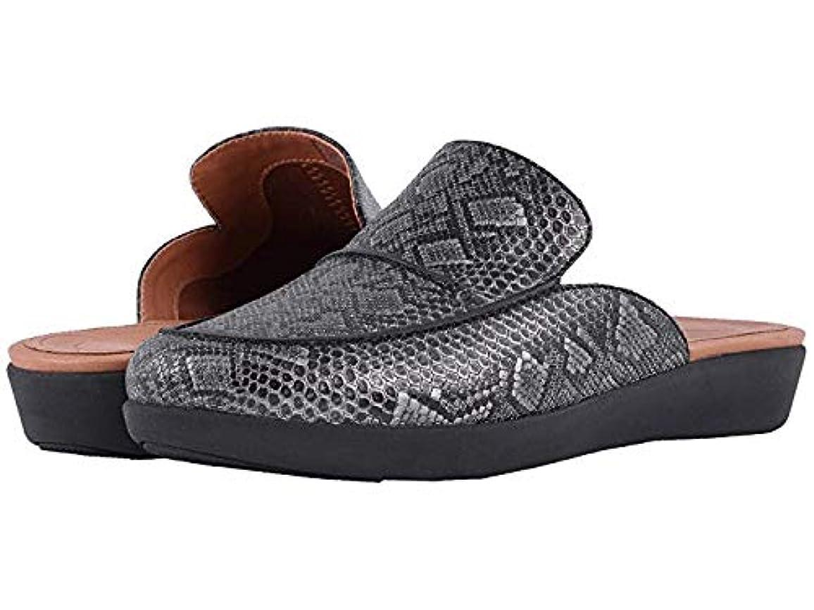 斧費用幻想[FitFlop(フィットフロップ)] メンズクロッグズ?ミュール?靴 Serene Python Print Slip-On Black US 6.5 (23.5cm) M (B) [並行輸入品]