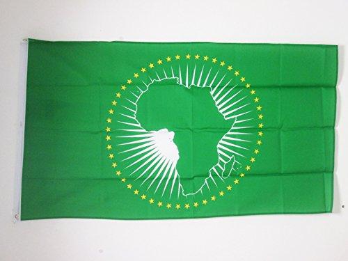 AZ FLAG Flagge AFRIKANISCHE Union 90x60cm - Afrika Fahne 60 x 90 cm - flaggen Top Qualität