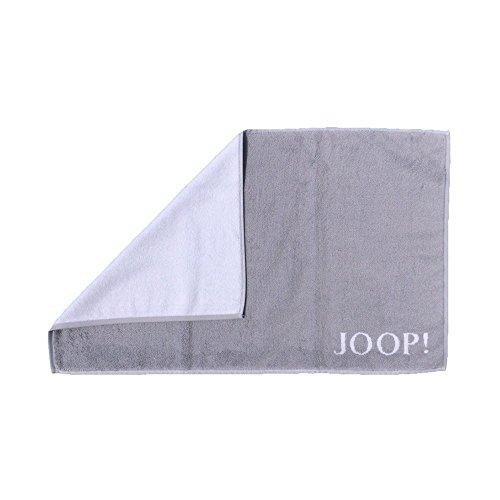 Joop! Badmatte Classic 1600 | 76 Silber/weiß - 50 x 80