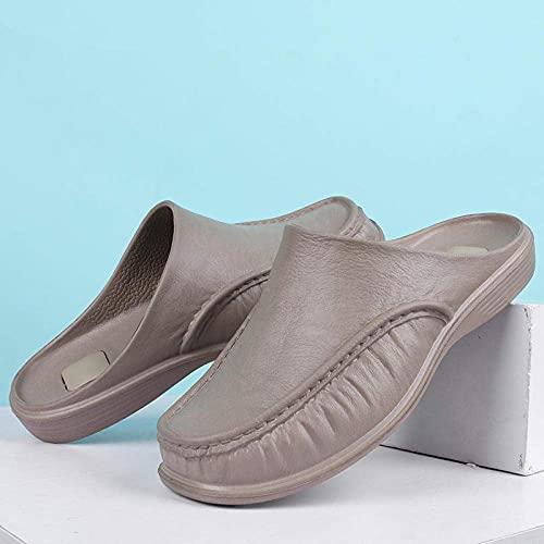 LDDZB Zapatillas Antideslizantes para Mujer, Zapatos de Media Deslizamiento Inferior de Moda, Anti-Patinaje casero-Card_40, Sandalias de Ducha Casa (Color : -, Size : -)