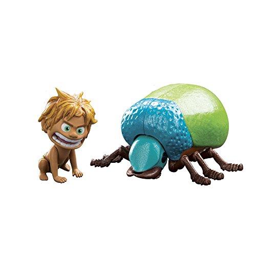 Giochi Preziosi - The Good Dinosaur Il Viaggio di Arlo, Personaggi Spot e Beetle con Braccia e Gambe Articolate