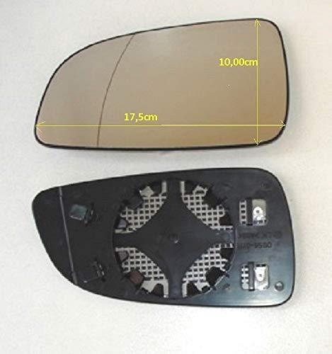 Pro!Carpentis Spiegel Spiegelglas Links beheizbar kompatibel für Außenspiegel Astra H Achtung: passt nur bis 09/2009