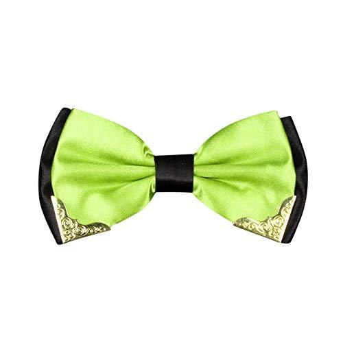 Herren Formal Fliege (12 cm x 6cm) Mode Einstellbar in Verschiedenen Farben zum Anzug oder Smoking/für Alle Männer das Perfekte Geschenk In Party Hochzeit Valentinstag Vatertag Dorica(B-1)