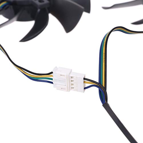 AERVEAL Ventilador de Tarjeta gráfica, Ventilador Enfriador Gpu Duradero con rodamiento de Bolas de 85 Mm para Tarjeta gráfica Maxsun Gtx1070Ti 1080
