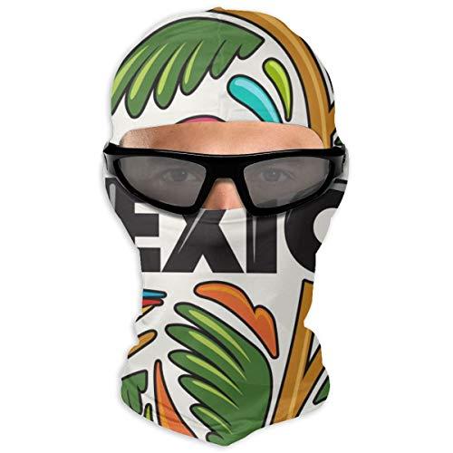 N/Een Full Face Masker Mexico Samenstelling Hood Zonnebrandcrème Masker Dubbele Laag Koud Voor Mannen En Vrouwen