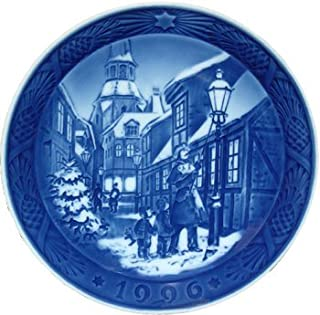 Royal Copenhagen Annual Hand Decorated Christmas Plate 1996