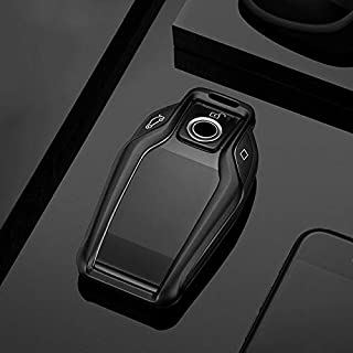 Key Case for Car - for for BMW 7 6 5 Series 730li 740 GT630 530le X3 2016 2017 2018 Car Accessories Metal Remote Key Case ...