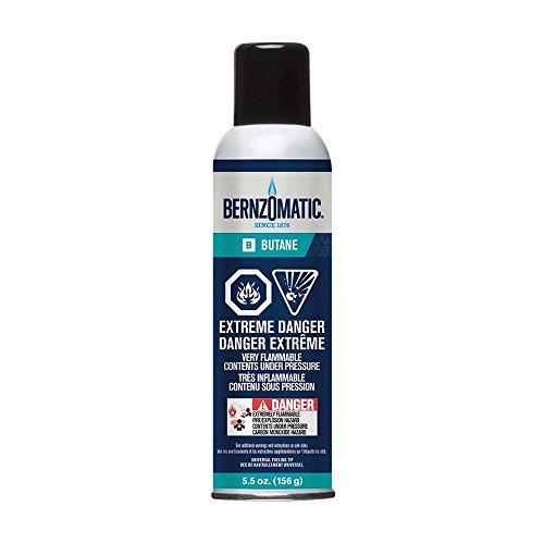 Bernzomatic 5.5 oz. Butane Gas Refill Canister