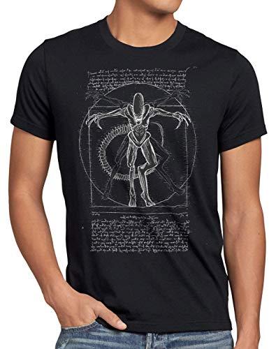 style3 Xenomorfo de Vitruvio Camiseta...