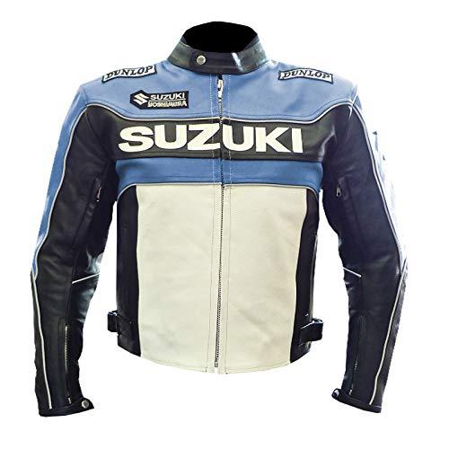 SUZUKI 1080 - Chaqueta de piel de vacuno para moto