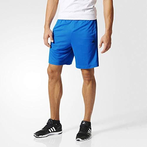 Adidas Base3s Short KN Homme, Bleu/Noir, FR : XXL (Taille Fabricant : 2XL)
