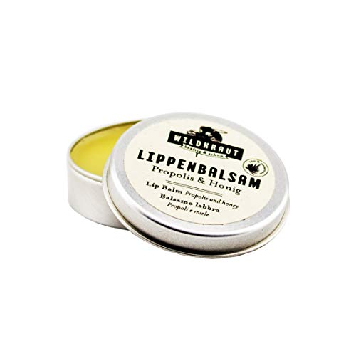 WILDKRAUT Lippen-Balsam | Bienenwachs & Propolis | 100{108a64495b8a83a20f9764fb1cc4500a092efbc92c496a44b6287adb7d914f79} natürlich | Handmade in Austria | 10ml