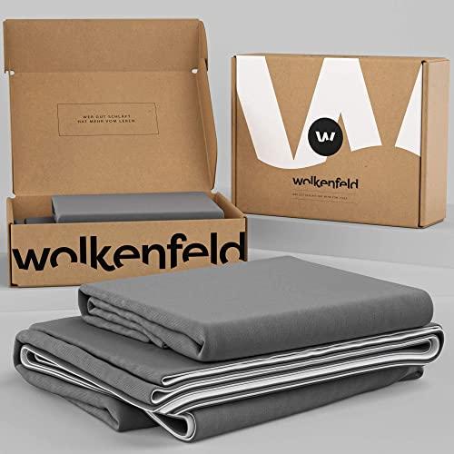 Wolkenfeld -   Bettwäsche 155x200