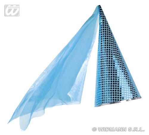 Widmann Fairy Pailletten Blau/Pink Neuheit lustige Hüte & Kopfbedeckung für Kostüme Zubehör