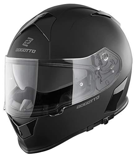 Bogotto V126 Solid Helm Schwarz Matt XXL