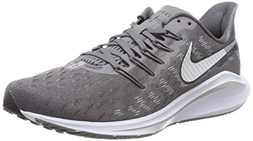 Nike Men's Air Zoom Vomero 14 Running Shoes, Grey (Gunsmokesea/White/Oil Grey/Atmosphere Grey 003), 8.5 UK
