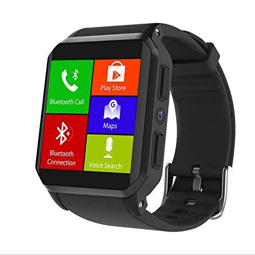 SailorMJY Bluetooth Fitness Tracker Smart Watch 3G quadratischer Bildschirm Wasserdichte Sportuhr Echtzeit Herzfrequenz Smart Watch Kompatibel mit iOS Android