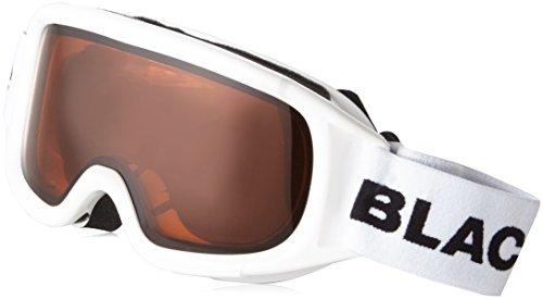 Black Crevice Damen Skibrille, weiß, One size