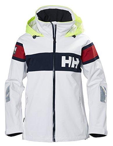 Helly Hansen Damen W Salt Jacket Trainingsjacke, White, XL