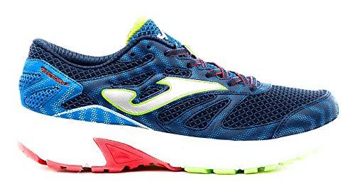 Joma J.Victory JR 2003 - Zapatillas para niño para correr y gimnasio, color azul Azul Size: 27 EU
