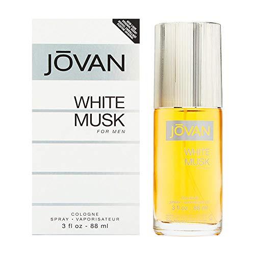 Jovan White Musk Eau de Cologne Vaporisateur pour homme 90 ml
