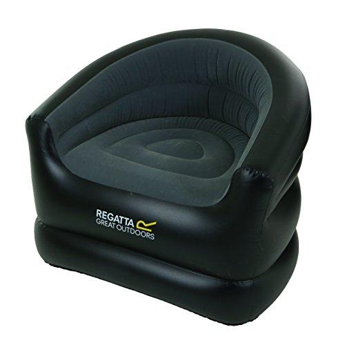 Regatta rce21806N sillón Hinchable Unisex, Black/Ebony