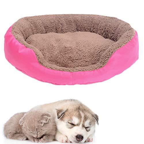 JZTRADE katzenbett hundebetten Haustierbetten Für Hunde Flauschiges Hundebett Haustierbetten Für Katzen Günstige Hundebetten Hund Schlafsofa Hundekomfortbett Rose red,s