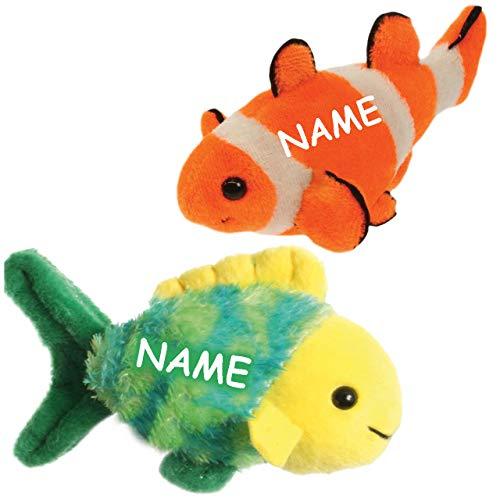 Bester der welt alles-meine.de GmbH 2 TLG.  Set_Finger Doll-Goldfish-Includes.  Name-Finger-Tier /…