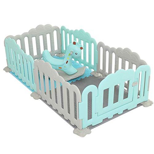 Relaxbx babyomheining kinderen 'S spelen omheining binnen klein plezierpark huis baby schommelpaard opslagrek