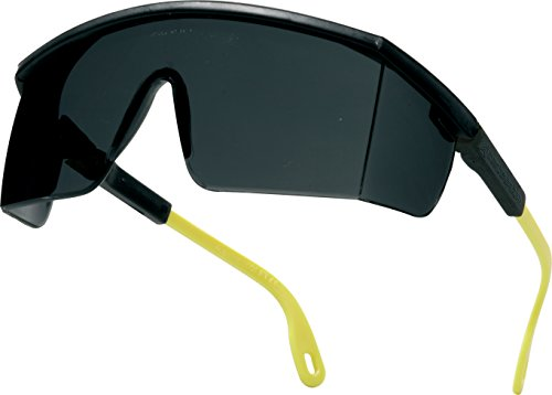 Delta plus proteccion ocular - Gafa protección kilimandj.negro policarbonato ahumado antirrayados, talla única