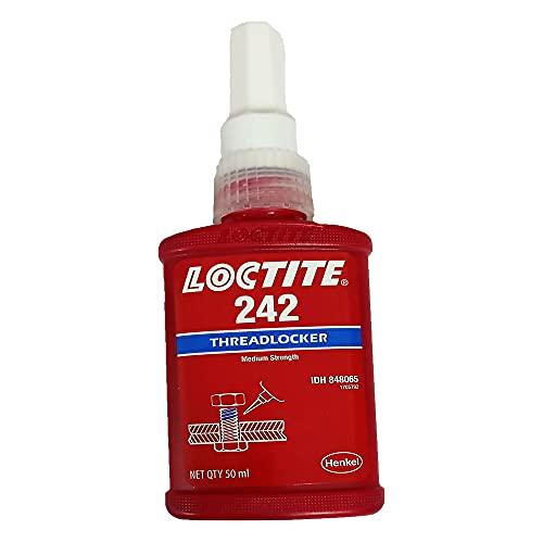 Henkel Loctite 242 Lot de 2 tubes de colle pour tous les métaux 50 ml