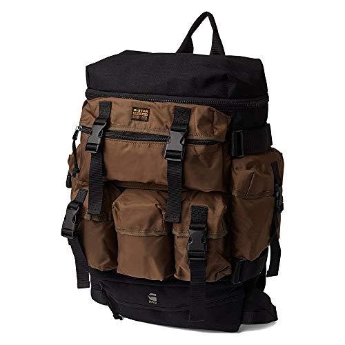 G-Star RAW Men's Estan Detachable Pocket Backpack, Carbid/Black 9606-4539, One Size Fits All