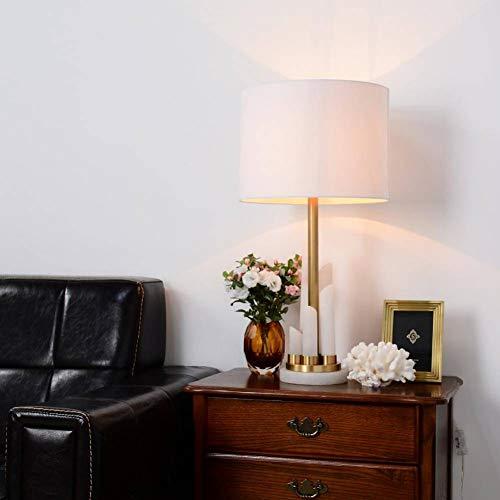 JFHGNJ koperen tafellamp albast lamp moderne kunst messing tafellamp Hotel Villa Decoratie